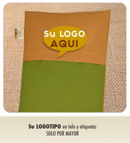 Pida Su Logotipo impreso en tela y etiquetas, solo por mayor