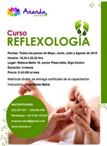 Curso Reflexologia